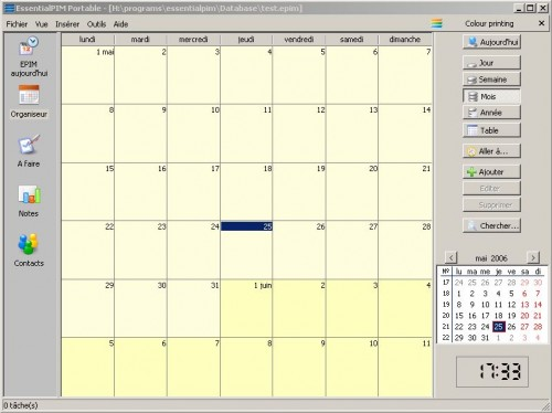EssentialPIM - calendrier, gestionnaire de contacts et prise de notes