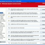 Windows System Control Center 2.0.5.0