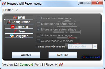hotspot wifi reconnecteur